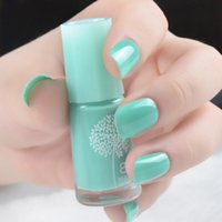 Wholesale Christmas Non toxic Green Water based Nail Gel Nail Polish ml Color Optional