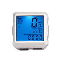 Wholesale S5Q Waterproof Backlight Digital Bicycles Odometer Speedometer Clock Stopwatches AAAFBO