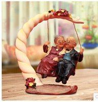 articles rock - Birthday present happiness rocking chair couples furnishing articles Creative gifts fashion furnishing articles package mail