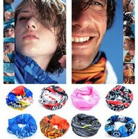 Wholesale Outdoor Sports Cycling Bike Bicycle Riding Variety Turban Magic Headband Veil Multi Head Scarf Scarves Face Mesh Bandanas