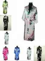 bath gown styles - Oriental Chinese Kimono Style Dressing Gown Bath Robe summer clothes soft and comfortable