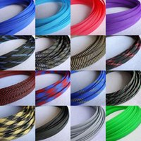 Wholesale 10mm Braided PET Expandable Sleeving New High Quality Color Selectable M