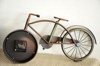 bicycle wall clock - Retro Old Bicycle Table Alarm Desk Clock Wall Antique Vintage Decorative Table Clock CM CM CM