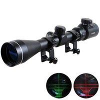 Cheap 3-9x40 Red And Green Illuminated Air Rifle Gun Optics Sniper Hunting Scope Sight