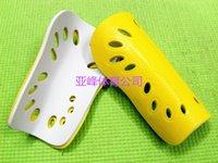 Wholesale soccer football player shin guard leg protector leg guard protection plate legging breathable plastic pad