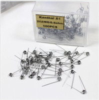 Wholesale Kanthal A1 Pre Build Wires g g g g g g g for RDA mod Rebuildable Atomizers e cigarettes RBA