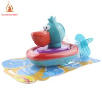 bath set products - set drop shipping baby bath toys wound up swimming toys water rope boat baby water Baby products Animal toys