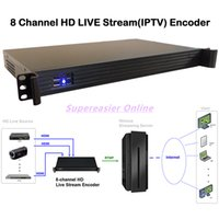 Wholesale High Performance High Density Channel HD Live Stream Encoder HDMI Capture Real time H Encoding RTPM Streams Broadcast Device for IPTV