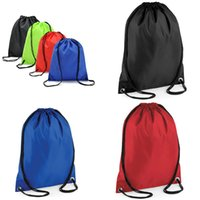 Wholesale Fashion Beach Drawstring Backpack Bags Waterproof GYM Swim School Dance Outdoor Sport Duffle