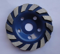 Wholesale High quality quot concrete diamond grinder cup wheel mm grinding discs tools for concrete marble granite