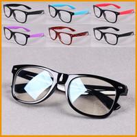 Wholesale 1 Stylish Practical Radiation resistant Glasses Computer for Men Women Wearing BLACK PURPLE BLUE RED