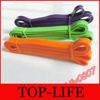 Wholesale Green Rubber Resistance Band For Gym Fitness Weight Training Pull Up Cross Fit
