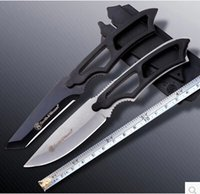 Wholesale straight knife non Leggings outdoor self defense diving cutter for high hardness hunting knife Survival knife knife small