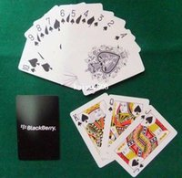 pvc decking - High quality Washable PVC Plastic playing card Waterproof PVC Poker card black for deck