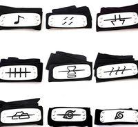 akatsuki toys - PrettyBaby naruto headband leaf village logo Konoha Kakashi Akatsuki Members metal Headband Cosplay Costume Accessories
