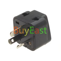 australian outlets - Free Ship Australian New Zealand type I Travel Adapter Way Multi Outlet Power Adaptor Black Color