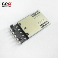 Wholesale Dongguan factory MICRO P male USB connector plug OTG MICRO USB P male patch