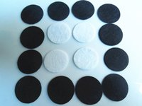 Wholesale DIY20mm Round Felt fabric pads accessory patches circle felt pads fabric flower accessories