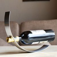 wine rack stainless steel - Thickening Stainless Steel Wine Rack Fashion Creative Wine Rack Factory Direct Sale Wine