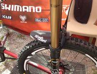 Wholesale bike mud fender MarshGuard Marsh Mud Guard Mountain Bike Guard AM XC BRAND DH fork a pair