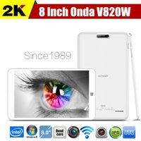onda wifi - Original Onda V820W Win Tablet PC inch x800 IPS Screen Intel Z3735F Bit Quad Core GHz GB RAM GB ROM MP OTG WIFI HDMI