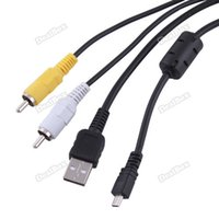 best cable services - niceseller best services FT M in USB RC AV Data Cable for Sanyo Camera Xacti VPC S1415 Hottest