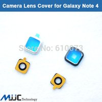 Wholesale For Samsung Galaxy Note N910 OEM Camera Frame Holder Glass Lens Cover Black White