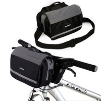 baskets bags - Cycling Bike Bicycle Front Basket Handlebar Bag Shoulder Bag
