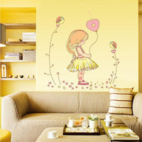 balloon background - 10 home decor The new study children s bedroom balloon little girl living room sofa background decorative wall stickers of three genera