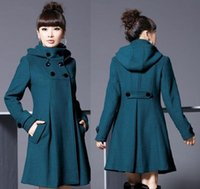 Wholesale Trade new Korean Women woolen coat was thin and long sections coat College Wind shawl cape coat big yards