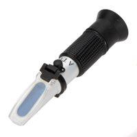 Wholesale High Precision ATC Handheld Honey Sugar Brix Refractometer Saccharometer Measuring Handheld Refractometer
