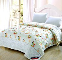 Wholesale Fashion Home Textile pc Comforter Quilt colors available Fashion Blanket Printed Quilt For Bedding Use