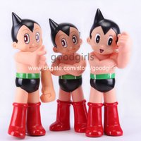 astro boy doll - Anime Cartoon Astro Boy PVC Action Figure Collectible Model Toys Dolls for Children Piggy Bank quot CM OTFG167