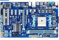 amd ga - original motherboard for Gigabyte GA F2A55 DS3 DDR3 FM2 F2A55 DS3 integrated graphics desktop