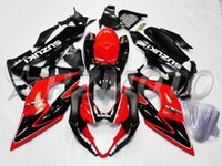 best custom motorcycles - 3 Free Gifts New Injection mold ABS motorcycle Fairing kits For SUZUKI GSXR1000 K5 GSX R1000 GSXR custom red black best