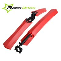 Wholesale ROCKBROS quot Bike Bicycle Bicicleta Cycling MTB Front Rear Fender Mudguard Mud Guards Quick Release Set Color