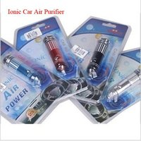 Wholesale car air purifier bulb Led Powerful Ionizer creates Ozone to Eliminate Bad smell from cigarette pets