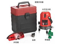 Wholesale New Professional lines points laser levels floor laser leveler tools with box packing