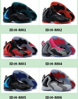 baketball shoes - 2015 New Arrival lil penny posite men baketball shoes penny hardaway shoes Size