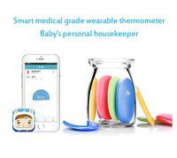 baby intelligent - US Stock Smart Baby Thermometer Children Electronic Skin Intelligent Bluetooth Digital Wireless APP Temperature Sensor Humidity