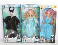 Wholesale New style toy doll Maleficent movie figures doll inch plastic Maleficent Aurora princess baby dolls for girls