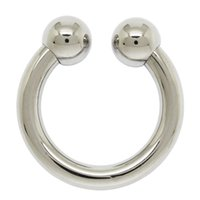 Wholesale 4mm x mm SURGICAL STEEL CIRCULAR BARBELL BODY PIERCING JEWELRY RINGS
