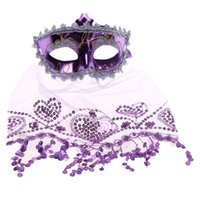 best costume deals - Best Deal New Fashion Adults Lovely Costume Ball Veil Mask Halloween Party Mask Good Quality PC