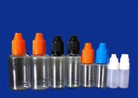 Wholesale Needle bottle PET PE ml ml ml ml ml ml Plastic Dropper Bottle With Childproof Cap E Liquid E cig Dropper Bottle DHL FEDEX