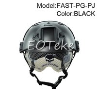 Wholesale Best quality Emerson FAST paintball Airsoft Base Jump Helmet With Protective Goggle Helmet Military Tactics Helmet