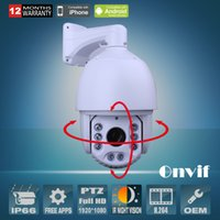 Wholesale ANRAN PTZ P IP Camera Pan Tilt Zoom Outdoor Hi speed Dome Varifocal mm Lens P2P Video Network Camera
