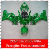 best choice painting - Best Choice Fairing Kits For Kawasaki Ninja ZX R ZX R ZX6R ZX636 All Green Painting OEM Bodywork