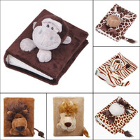 Wholesale Cute Cartoon Animal Pattern Photo Frame Cover Cozy Soft Stereo Fluff Picture Photo Album ZFL