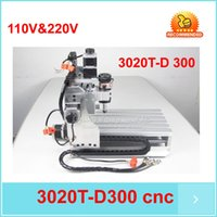 milling machine - price Small cnc milling machine T D300 engraving machine CNC router cutter made in china W Spindle