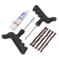 best tubeless tires - Best Price Safety Strip Car Motorcycle Bike Auto Tubeless Tire Tyre Puncture Plug Repair Kit Tool Set